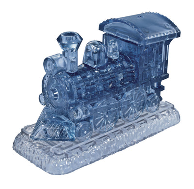 3D Jigsaw Puzzles, SMOKEBLUE TRAIN CRYSTAL PUZZLE