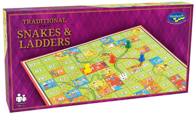 Traditional Games, Snakes & Ladders Set