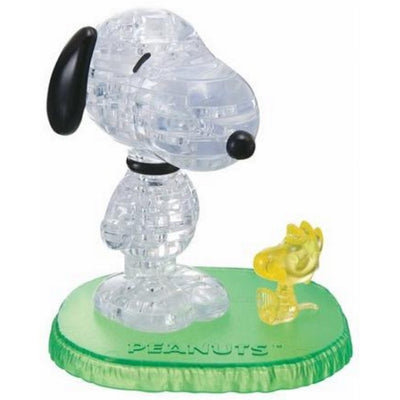 3D Jigsaw Puzzles, SNOOPY AND WOODSTOCK CRYSTAL
