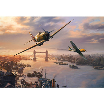 Jigsaw Puzzles, Gibsons: Spitfire Skirmish 500pc
