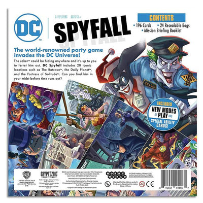 Card Games, Spyfall: DC Comics