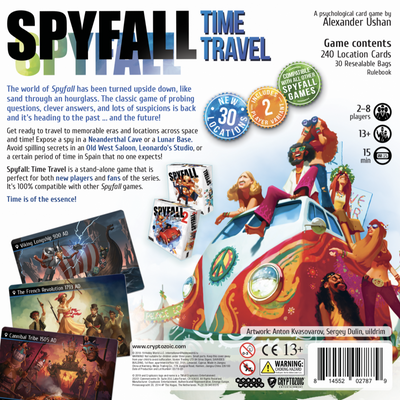 Card Games, Spyfall: Time Travel