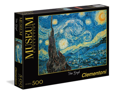 Jigsaw Puzzles, Starry Night by Van Gogh - 500pc
