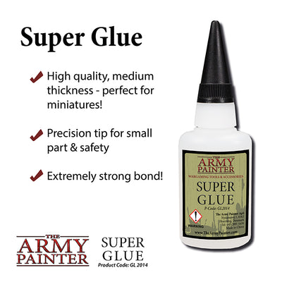 Hobby Supplies, Super Glue