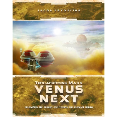Board Games, Terraforming Mars: Venus Next Expansion