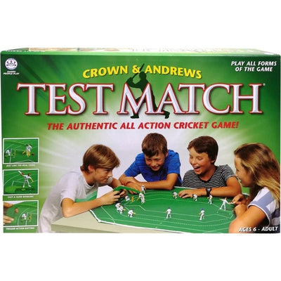 Traditional Games, Test Match - The Authentic All Action Cricket Game