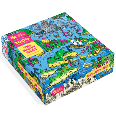 Jigsaw Puzzles, The Happy Isles - 1000pc