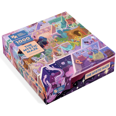 Jigsaw Puzzles, The Mystic Maze - 1000pc