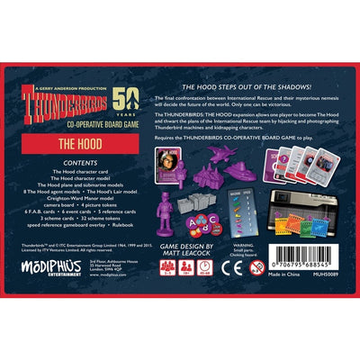 Board Games, Thunderbirds: The Hood Expansion