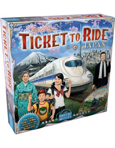 TICKET TO RIDE JAPANITALY EX7