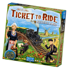 Ticket to Ride Map Collection: Vol. 4 - Nederlands