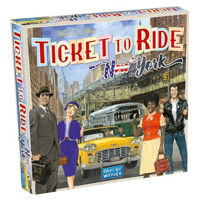 Board Games, Ticket to Ride: New York
