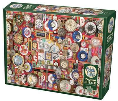 Jigsaw Puzzles, Timepieces - 1000pc