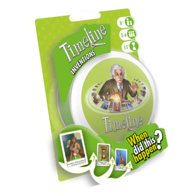 Card Games, Timeline: Inventions Edition