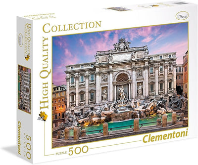 Jigsaw Puzzles, Trevi Fountain - 500pc