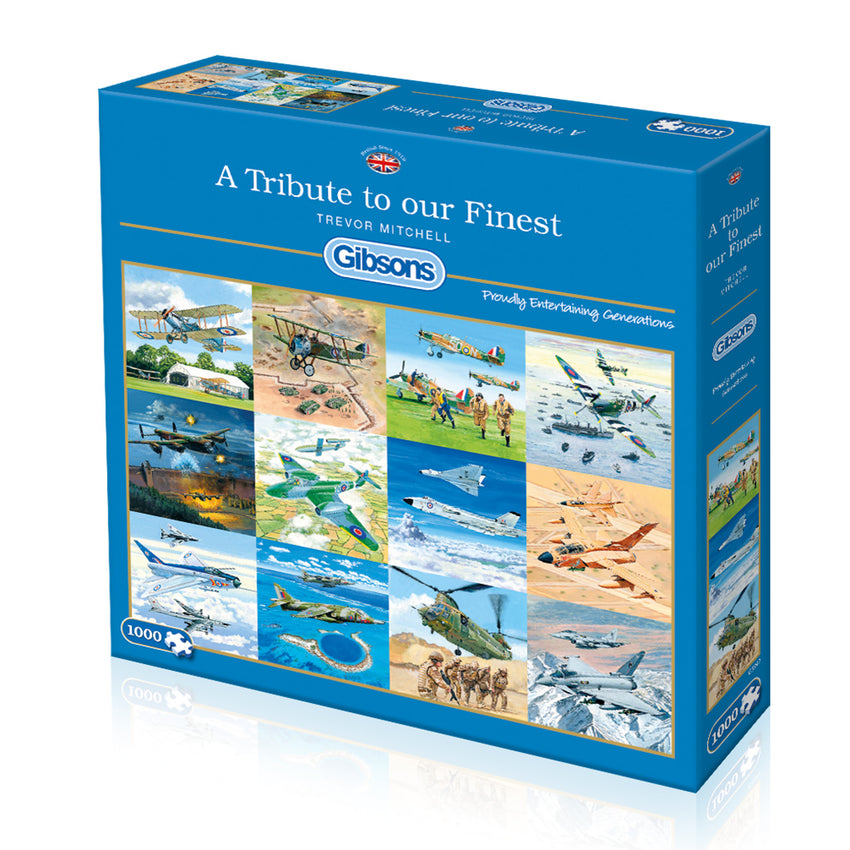 Gibsons: Tribute to Our Finest - 1000pc