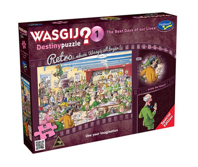 Jigsaw Puzzles, Wasgij Destiny 1: The Best Days of Our Lives! - 500pc XL
