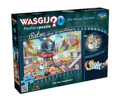 Jigsaw Puzzles, Wasgij Mystery 1: The Wasgij Express - 500pc XL