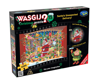 Jigsaw Puzzles, Wasgij Xmas 15: Unexpected Delivery - 1000pc