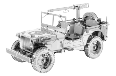 3D Jigsaw Puzzles, ME ICONIX WILLYS MB JEEP