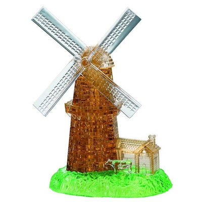 3D Jigsaw Puzzles, WINDMILL CRYSTAL PUZZLE