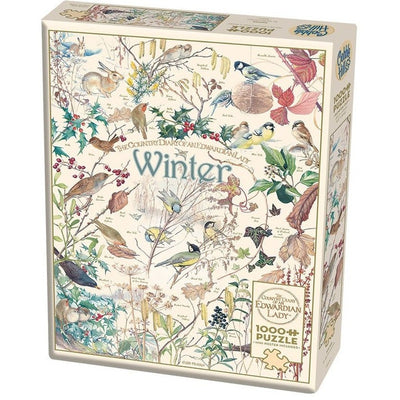 Jigsaw Puzzles, WINTER PUZZLE 1000PC