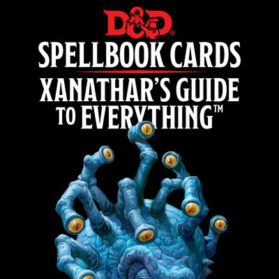 Role Playing Games, Spellbook Cards: Xanathar's Guide to Everything