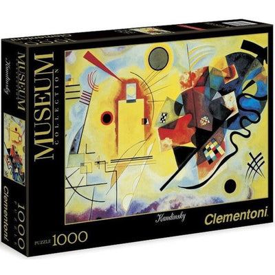 Jigsaw Puzzles, Yellow Red Blue by Wassily Kandinsky - 1000pc