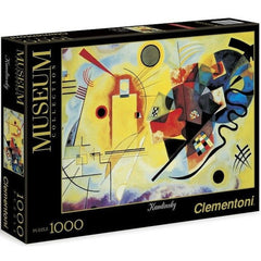 Yellow Red Blue by Wassily Kandinsky - 1000pc