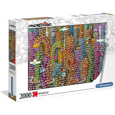 Jigsaw Puzzles, Mordillo: The Jungle - 2000pc