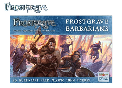 Miniatures, Frostgrave: Barbarians