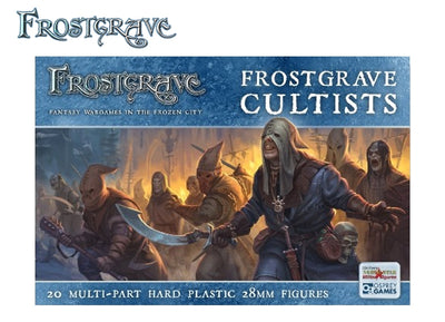 Miniatures, Frostgrave: Cultists