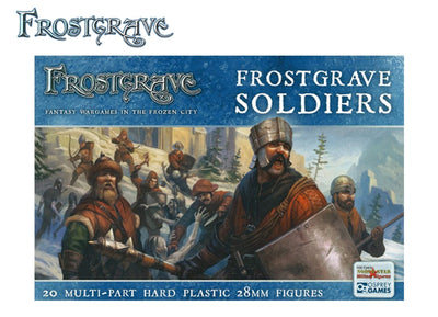 Miniatures, Frostgrave: Soldiers