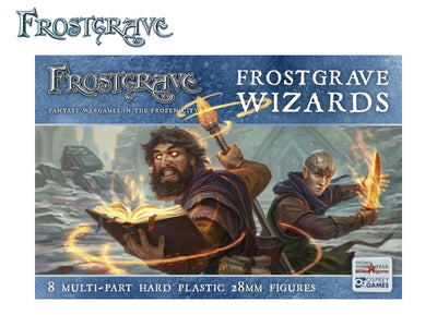 Miniatures, Frostgrave: Wizards