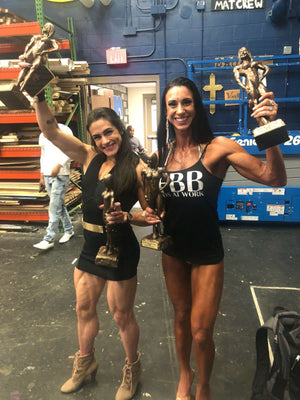 IFBB Pro Natalia Coelho's clips from Mid-Florida as Trophy Presenter