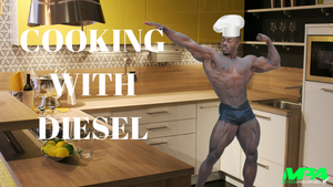Cooking with Diesel Episode 2 (IFBB Pro Terrence Ruffin)