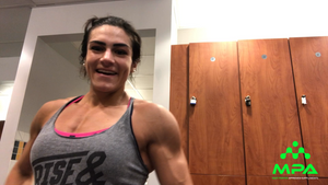 IFBB Pro Natalia Coelho Talks about Being a Trophy Presenter