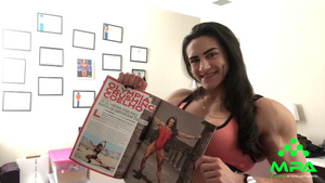 IFBB Pro Natalia Coelho Featured in FLEX Magazine