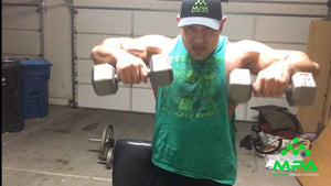 In the Garage with MPA: Matt Porter's Shoulder Workout
