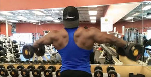 Delt training with IFBB Pro Terrence Ruffin