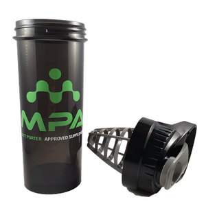 MPA Supps 32oz shaker cup with lid off