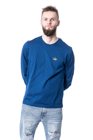 Langærmet t-shirt [navy] - Royal Denmark
