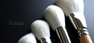 "High quality Makeup brush ""FUTUR"" 13 brushes set Made in Japan"