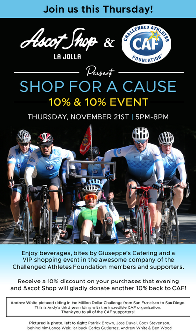 Shop for a Cause - CAF