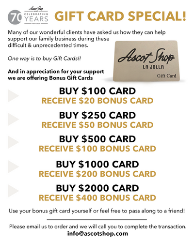 Gift Card Special!