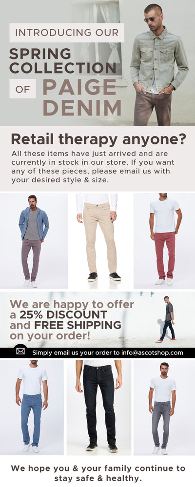 Paige Denim Spring Collection