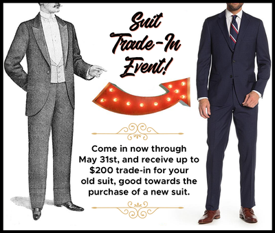 Suit Trade-In Event!