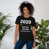 2020 One Star Very Bad Would Not Recommend Funny 2020 Gift