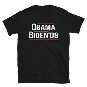 Barack Obama Joe Biden 2008 Short-Sleeve Unisex T-Shirt -