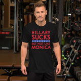 Hillary Sucks But Not Like Monica - Funny Election